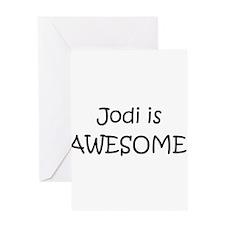 Cute Jody Greeting Card