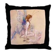Fairies Flew In Throw Pillow