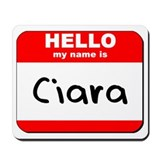Hello my name is Ciara Mousepad