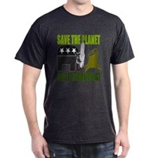 Vote Democrat Save the Earth T-Shirt