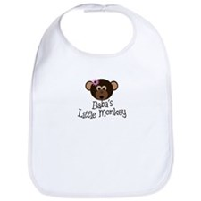 Baba's Little Monkey Bib