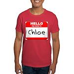 Hello my name is Chloe Dark T-Shirt
