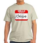 Hello my name is Chloe Light T-Shirt