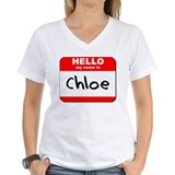 Hello my name is Chloe Shirt