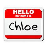Hello my name is Chloe Mousepad