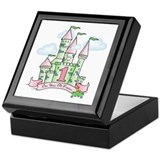 Castle Birthday Princess 1st Keepsake Box