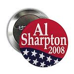 Al Sharpton for President 2008 Button