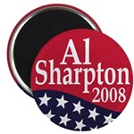 Al Sharpton President 2008 Magnet