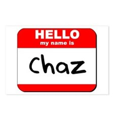 Hello my name is Chaz Postcards (Package of 8)