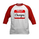 Hello my name is Chaya Tee