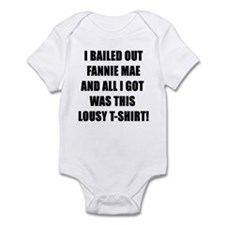 Bailout Wall Street Crisis Infant Bodysuit