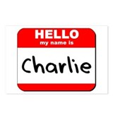 Hello my name is Charlie Postcards (Package of 8)
