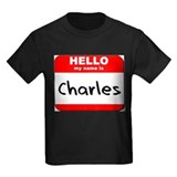 Hello my name is Charles T