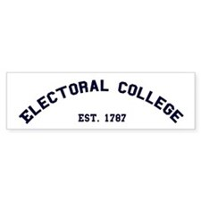 """Electoral College"" Bumper Sticker (10 pk)"