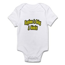 """Happiness...Scientist"" Infant Bodysuit"