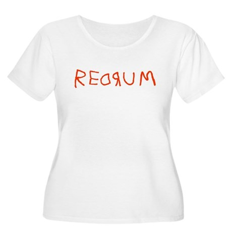 Redrum Plus Size Scoop Neck Shirt