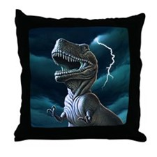 T-rex 3 Throw Pillow