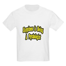"""Happiness...Psychologist"" T-Shirt"