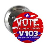 "VOTE It's Not An Option 2.25"" Button"
