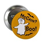 "McCain? Boo! Halloween 2.25"" Button (10 pack)"