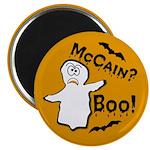McCain? Boo! Halloween Magnet