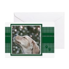 Golden Christmas Wishes Greeting Cards (Package of