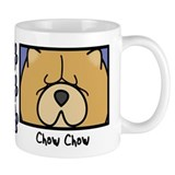 Anime Chow Chow Small Mugs