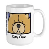 Anime Chow Chow Ceramic Mugs