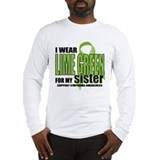 Lymphoma: LG for Sister Long Sleeve T-Shirt
