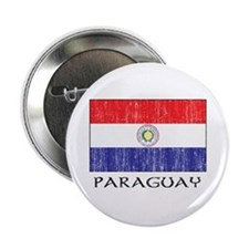 "Paraguay Flag 2.25"" Button (10 pack)"