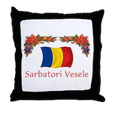 Romania Sarbatori... 2 Throw Pillow