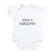 Cute I love kiana Infant Bodysuit