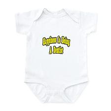 """Happiness...Dentist"" Infant Bodysuit"