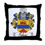 Paluzzi Family Crest Throw Pillow