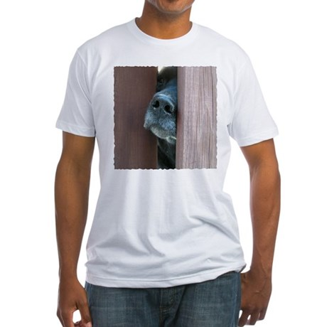 The Nose Knows Fitted T-Shirt