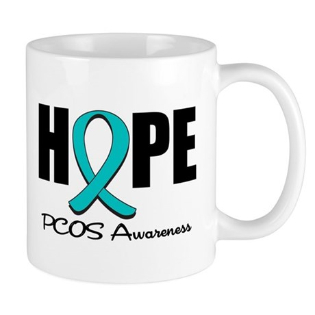 Hope PCOS Awareness Mug