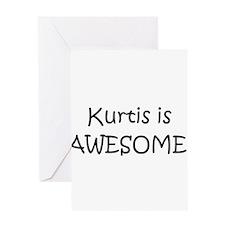 Cute I love kurtis Greeting Card