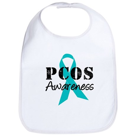 PCOS Awareness Bib