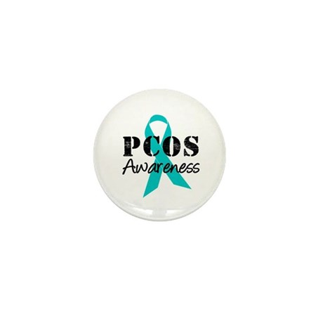 PCOS Awareness Mini Button (10 pack)