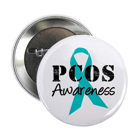 PCOS Awareness 2.25&quot; Button