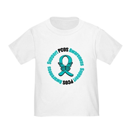 PCOS Awareness Toddler T-Shirt