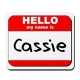Hello my name is Cassie Mousepad