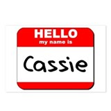 Hello my name is Cassie Postcards (Package of 8)