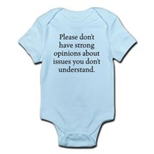 Unique Controversy Infant Bodysuit