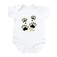 River Otter Tracks Infant Bodysuit
