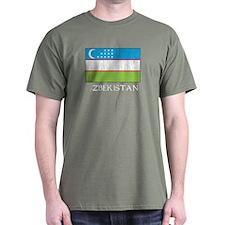 Uzbekistan Flag T-Shirt