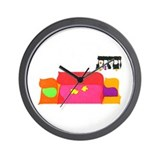 """Choose Life"" Rosh Hashanah Wall Clock"