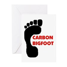 CARBON TRACKS Greeting Cards (Pk of 20)