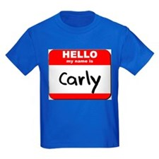 Hello my name is Carly T