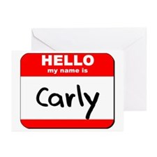 Hello my name is Carly Greeting Cards (Pk of 20)